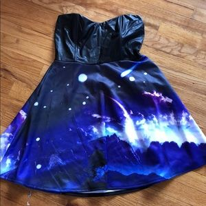 Large Galaxy Dress
